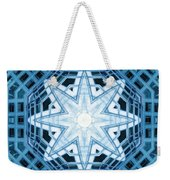 Abstract Blue 14 Weekender Tote Bag