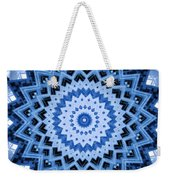 Abstract Blue 17 Weekender Tote Bag