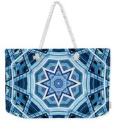 Abstract Blue 22 Weekender Tote Bag