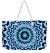 Abstract Blue 25 Weekender Tote Bag