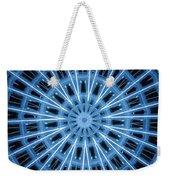 Abstract Blue 28 Weekender Tote Bag