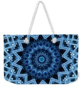 Abstract Blue 30 Weekender Tote Bag
