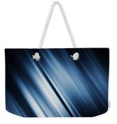 Abstract Blurred Dark Blue  Background Weekender Tote Bag