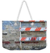 Abstract Brick 1 Weekender Tote Bag