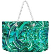 Abstract Brutality The Vortex Weekender Tote Bag