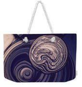 Abstract Bubbles Weekender Tote Bag