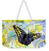 Abstract Butterfly Weekender Tote Bag