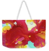 Abstract Butterfly Floral Weekender Tote Bag