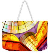 Abstract Cathedral Color Wheel Weekender Tote Bag