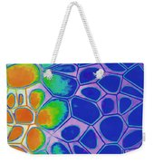 Abstract Cells 3 Weekender Tote Bag