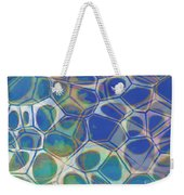 Abstract Cells 5 Weekender Tote Bag