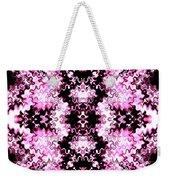 Pink And Black Design  Weekender Tote Bag