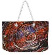 Abstract- Circle Weekender Tote Bag