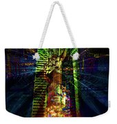 Abstract City In Green Weekender Tote Bag