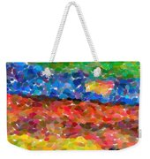 Abstract Color Combination Series - No 8 Weekender Tote Bag