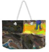 Abstract Color Combination Series - No 9 Weekender Tote Bag