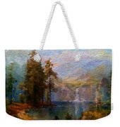 Abstract Colorful Nature Weekender Tote Bag