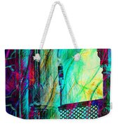 Abstract Colorful Window Balcony Exotic Travel India Rajasthan 1a Weekender Tote Bag