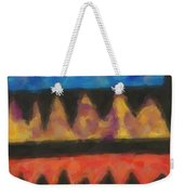 Abstract Combination Of Colors No 4 Weekender Tote Bag
