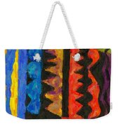 Abstract Combination Of Colors No 5 Weekender Tote Bag