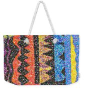 Abstract Combination Of Colors No 6 Weekender Tote Bag