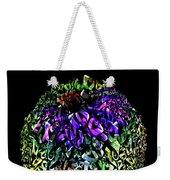 Abstract Cone Flower Digital Painting A262016 Weekender Tote Bag