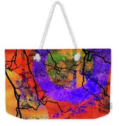 Abstract Configuration Weekender Tote Bag