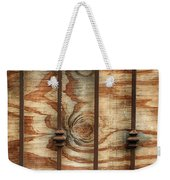 Abstract Construction Art Weekender Tote Bag