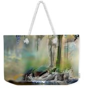 Abstract Contemporary Art Titled Humanity And Natures Gift By Todd Krasovetz  Weekender Tote Bag