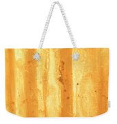 Abstract Contemporary Golden Yellow Painting Vibrant And Bold Yellow Gold By Madart Weekender Tote Bag