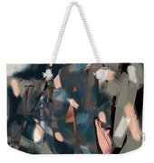 Abstract Cube Fish With Overbite Weekender Tote Bag