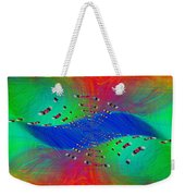 Abstract Cubed 328 Weekender Tote Bag