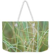 Abstract Curly Grass One Weekender Tote Bag