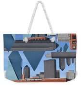 Abstract Dallas Weekender Tote Bag