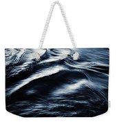Abstract Dark Blurred Ripples Weekender Tote Bag