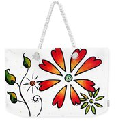 Abstract Decorative Greeting Card Art Thank You By Madart Weekender Tote Bag