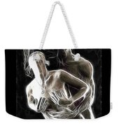 Abstract Digital Artwork Of A Couple Making Love Weekender Tote Bag