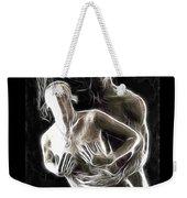 Abstract Digital Artwork Of A Couple Making Love Weekender Tote Bag by Oleksiy Maksymenko