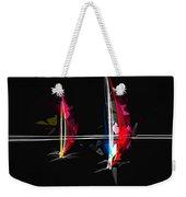 Abstract Digital Boats Weekender Tote Bag