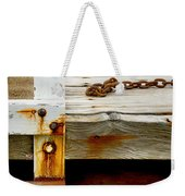 Abstract Dock Weekender Tote Bag