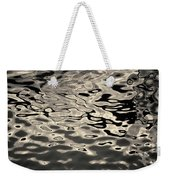 Abstract Dock Reflections I Toned Weekender Tote Bag