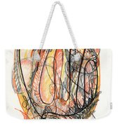Abstract Drawing Forty-five Weekender Tote Bag
