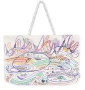 Abstract Drawing Nineteen Weekender Tote Bag