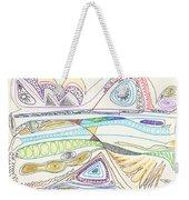 Abstract Drawing Seventeen Weekender Tote Bag