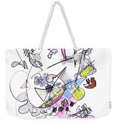 Abstract Drawing Seventy-two Weekender Tote Bag