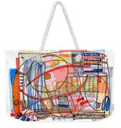 Abstract Drawing Sixty-eight Weekender Tote Bag