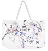 Abstract Drawing Sixty-four Weekender Tote Bag