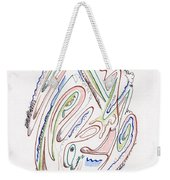Abstract Drawing Sixty Weekender Tote Bag