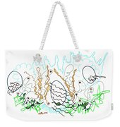 Abstract Drawing Sixty-one Weekender Tote Bag