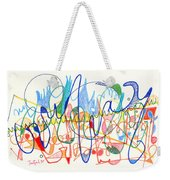 Abstract Drawing Two Weekender Tote Bag
